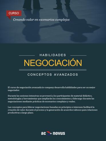 Curso de negociación